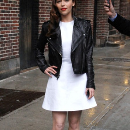 Emilia Clarke on 'Late Show with David Letterman'