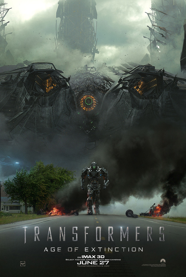 Transformers Age Of Extinction Poster Optimus Prime 'Transformers 4: Age o...