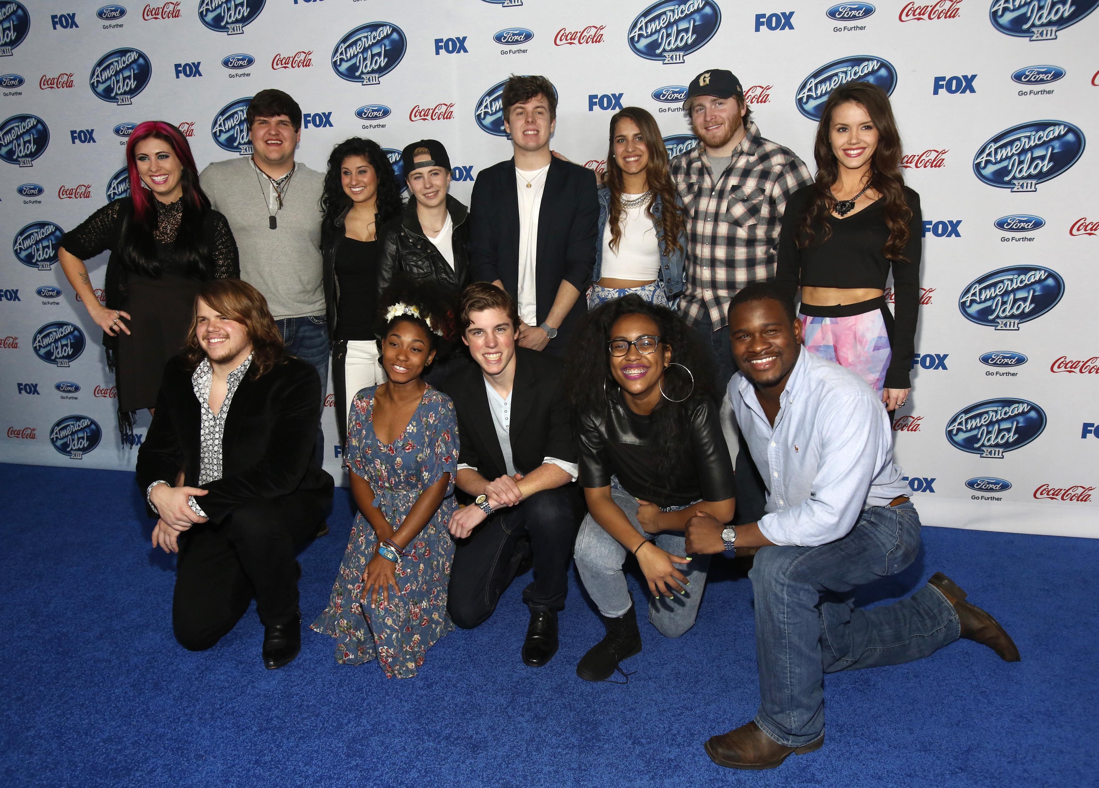 American Idol 2014 Contestants