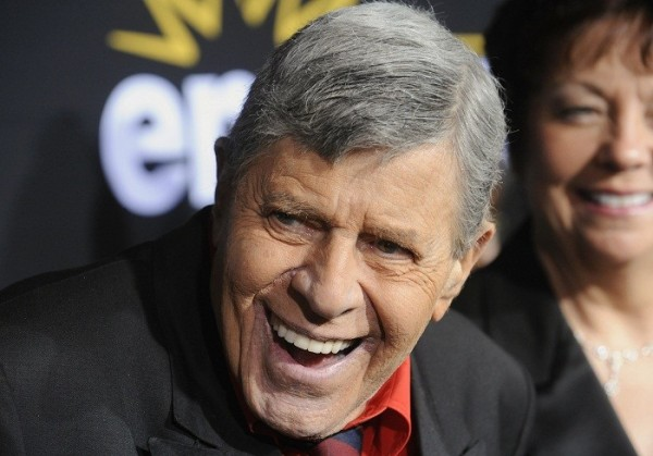 "U.S. comedian Jerry Lewis attends a special screening of the feature-length documentary ""Method to the Madness of Jerry Lewis"" at Paramount Studios in Los Angeles, December 7, 2011."