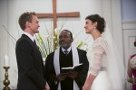 "Robin and Barney Saying their vows in 'HIMYM' episode ""The End of the Aisle"""