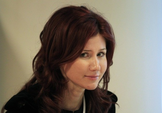 Former Russian spy Anna Chapman is seen after a meeting of the commission on economic modernization and technological development of the Russian economy, at the Skolkovo Innovation Centre outside Moscow December 14, 2010.