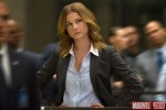 Emily VanCamp as Agent 13 in 'Captain America: The Winter Soldier'