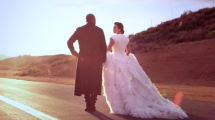 Kim Kardashian, Kanye West on Vogue