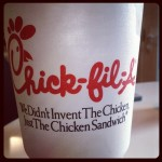 """Chick-fil-A and a water birth. No big deal."" / Kourtney Kardashian"