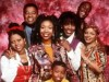 The 'Moesha' gang in 1997. Castmember Yvette Wilson succumbed to cancer on Thursday at age 48.