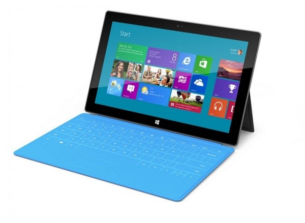 "Microsoft unveiled its tablet ""Surface"" on Monday June 18."