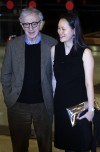 "U.S. director Woody Allen and his wife Soon Yi Previn pose during the premiere of his film ""To Rome with Love"" in Rome April 13, 2012."
