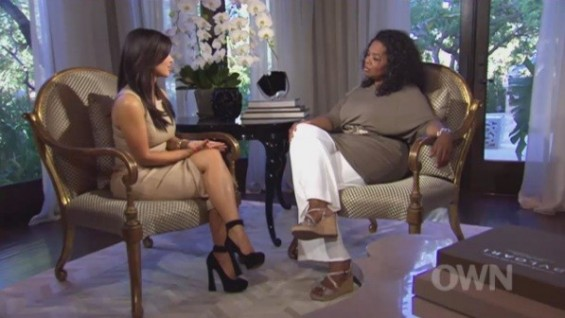 Kim Kardashian on Oprah Next Chapter