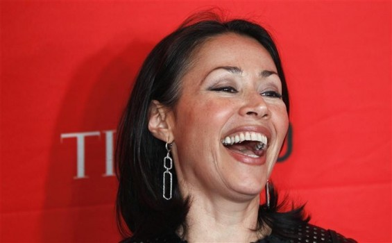 Television personality Ann Curry arrives at the Time 100 Gala in New York, April 24, 2012