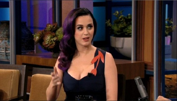 Katy Perry on The Tonight Show with Jay Leno