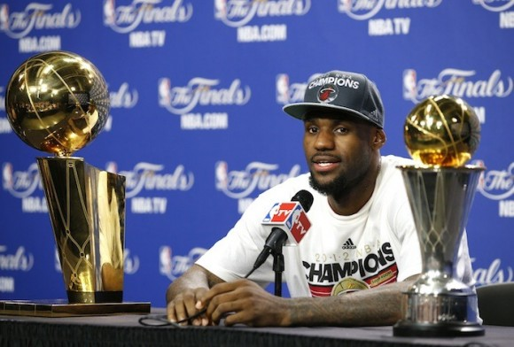 8. Miami Heat's LeBron James