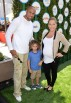 Hank Baskett IV, Kendra Wilkinson, and Hank Baskett
