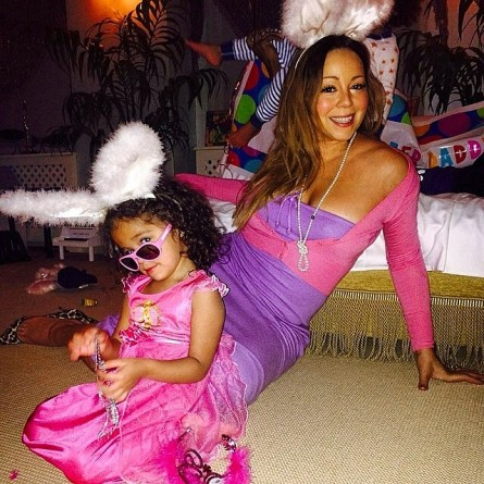 Mariah Carey Easter PHOTO