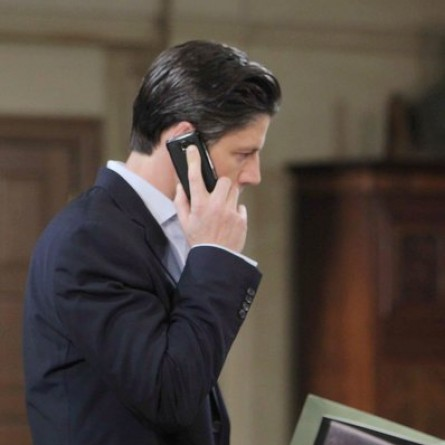 All hell breaks loose at the DiMera mansion when the photograph of E.J. and Abigail is discovered on 'Days of Our Lives'