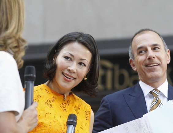 &#034;TODAY&#034; show hosts Ann Curry and Matt Lauer