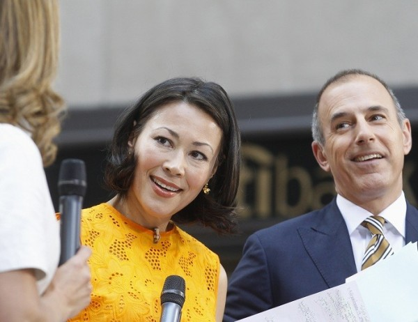 """TODAY"" show hosts Ann Curry and M"