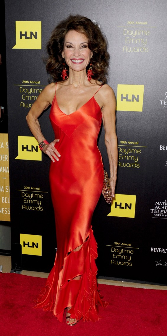Susan Lucci arrives at the 39th Daytime Emmy Awards in Beverly Hills, California