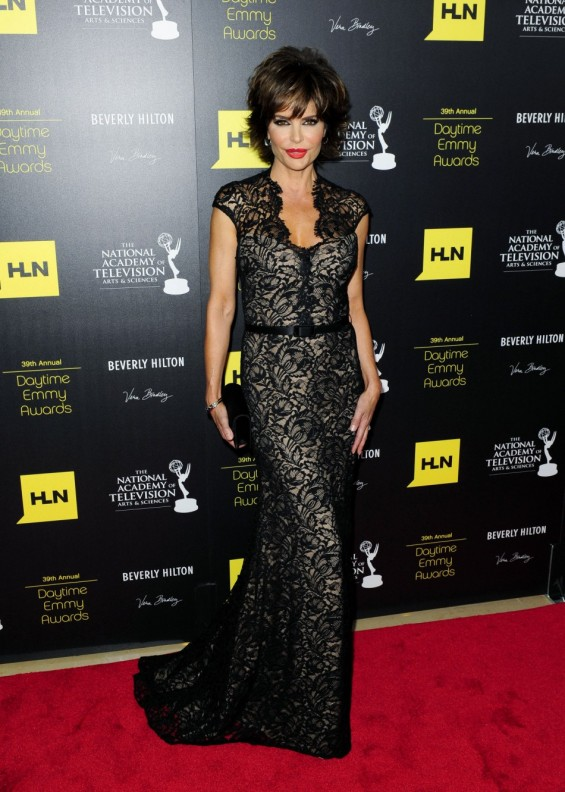 Actress Lisa Rinna at the 39th Daytime Emmy Awards in Beverly Hills, California