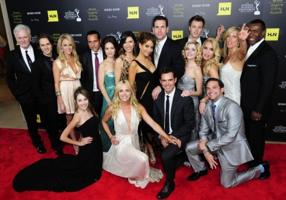 "The cast from ""General Hospital""  at the 39th Daytime Emmy Awards in Beverly Hills, Californi"