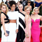 Cara Delevingne, RIhanna, Stella McCartney, Kate Bosworth and Reese Witherspoon at the Met Ball 2014