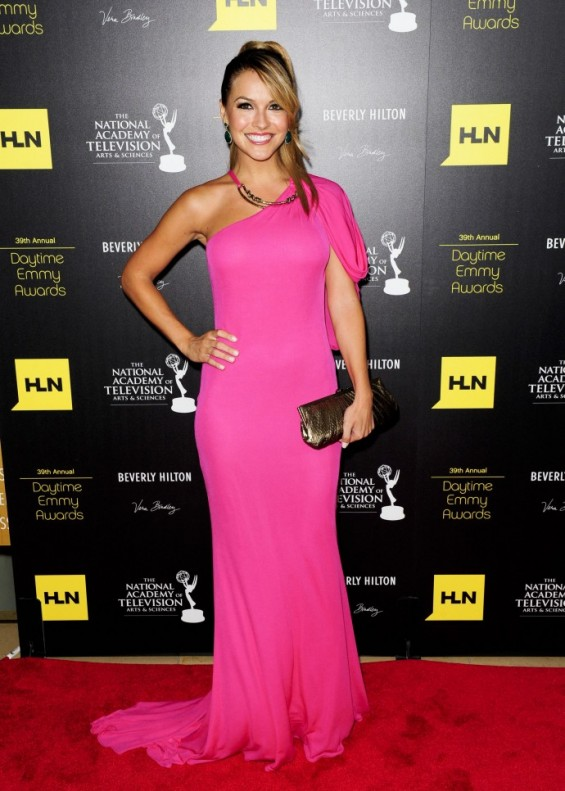 Actress Chrishell Stause arrives at the 39th Daytime Emmy Awards in Beverly Hills, California