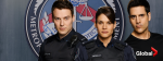 Nick Collins, Missy Peregrym and Ben Bass