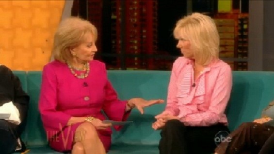 "Rielle Hunter in ""The View"" on June 26."