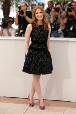 Jessica Chastain in Alexander McQueen