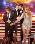 Jennifer Lopez, Harry Connick Jr. & Keith Urban