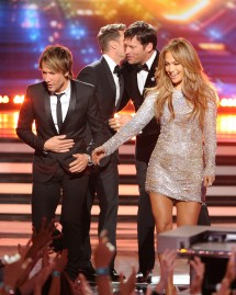 Jennifer Lopez, Harry Connick Jr. & Keith Urban