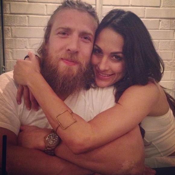 Daniel Bryan Daughter Brie Bella Daniel Bryan