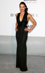 Michelle Rodriguez attends amfAR's 21st Cinema Against AIDS Gala Presented By WORLDVIEW, BOLD FILMS, And BVLGARI at Hotel du Cap-Eden-Roc on May 22, 2014 in Cap d'Antibes, France.