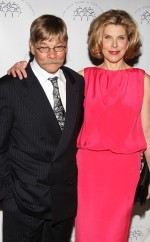 Matthew Cowles and Christine Baranski