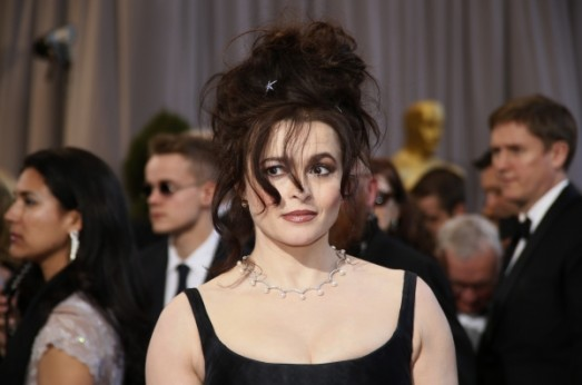 Helena Bonham Carter at the 85th annual Academy Awards in Hollywood, California, February 24, 2013