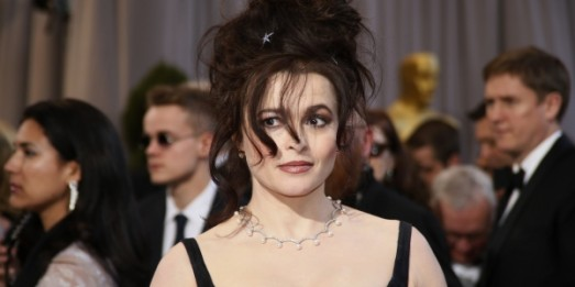 Helena Bonham Carter at the 85th annual Academy Awards in Hollywood, California, February 24, 2013