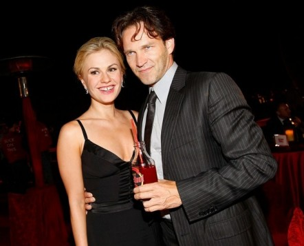 'True Blood' Stephen Moyer with Anna Paquin