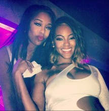 Basketball Wives LA PHOTOS - Bambi and Malaysia