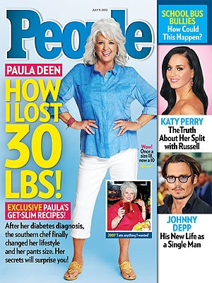 Paula Deen Weight Loss: People Magazine : Celebrities : ENSTARZ