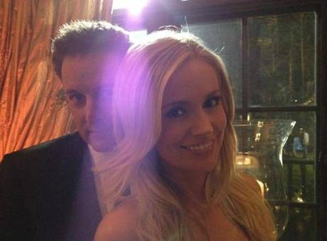 Emily Maynard and Chris Harrison