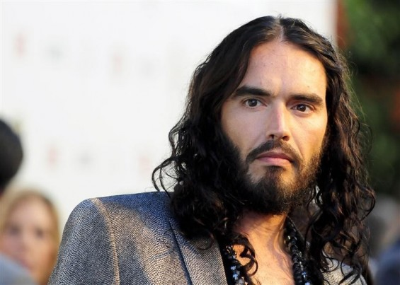 British actor Russell Brand arrives at the Hollywood FX Summer Comedies Party in Los Angeles, California June 26, 2012.