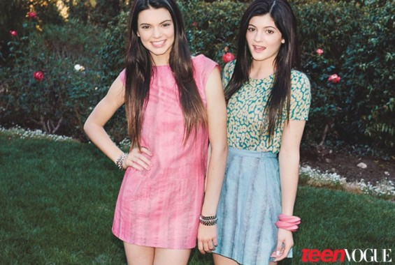 Kendall and Kylie Jenner (Teen Vogue)