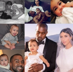 Kanye West North West PHOTOS