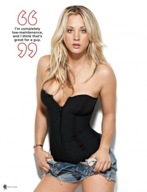 Kaley Cuoco – Maxim Magazine Australia (July 2012)