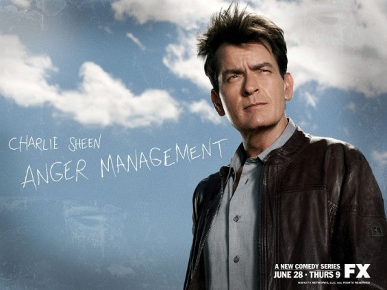 Charlie Sheen&#039;s new sitcom &#034;Anger Management&#034; premiered Thursday on FX.