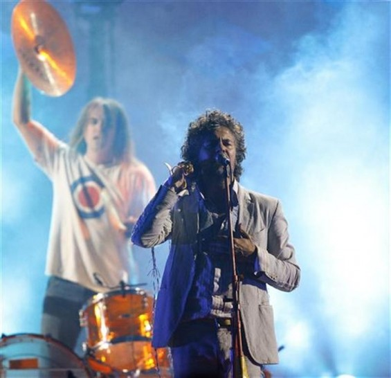Wayne Coyne of The Flaming Lips performs at the taping of the third annual VH1 Rock Honors: The Who concert in Los Angeles July 12, 2008.