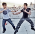 James Wan and Tony Jaa in 'Fast and Furious 7'
