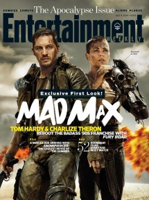 'Mad Max' Entertainment Weekly Cover (July)