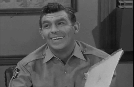 Andy Griffith in &#034;The Andy Griffith Show&#034;
