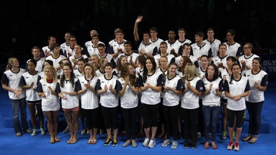 2012 U.S. Olympic Swimming Team